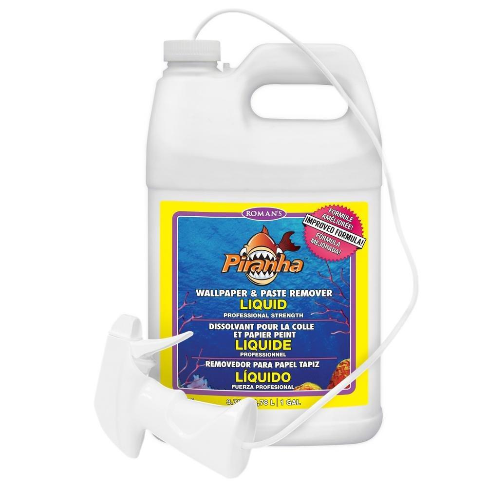Piranha 206007 1 Gal Liquid Spray Wallpaper Remover